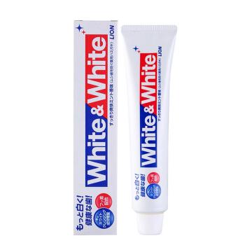 狮王(Lion)White&white牙膏优惠券